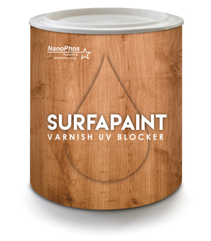 SurfaPaint Wood Varnish - UV